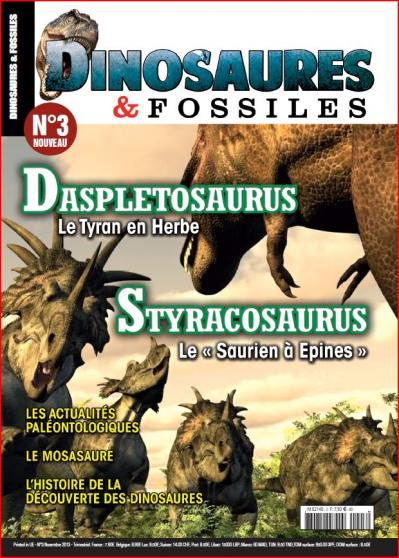 Dinosaures & fossiles - magazine - revue - Philippe Mind - crypto-investigations - paléontologie - novembre 2013