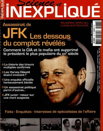 Dallas-Etats Unis-Jack Ruby-Complot-conspiration-Lee Harvey Oswald-John Fitzgerald Kennedy-Science et Inexpliqué 36-Novembre-Décembre-2013-crypto-investigations-Philippe Mind